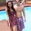 พร้อมส่ง ชุดว่ายน้ำคู่รัก ชุดว่ายน้ำบิกินี่ทูพีซ สายคล้องคอ ลายสตรอเบอร์รี่น่ารักๆ พร้อมเดรสคลุมสวยๆ กางเกงผู้ชายลายเดียวกัน thumbnail 1