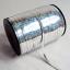 ริบบิ้นม้วนใหญ่สีเงินเลเซอร์ สำหรับผูกลูกโป่ง ยาว 350 เมตร - Silver Holographic Curling Balloon Ribbon thumbnail 2