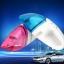 เครื่องดูดฝุ่นในรถยนต์ แบบพกพาไร้สาย ดูดฝุ่นมือถือ - สีชมพู thumbnail 3
