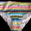 พร้อมส่ง ชุดว่ายน้ำ Bikini ผูกข้าง ทูพีซ บราโทนสีส้มอ่อนๆ ลายโบฮีเมียนสวยๆ thumbnail 14