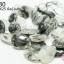 หินแก้วขนเหล็ก ทรงหยดน้ำ 18X25มิล (จีน) (1เส้น) thumbnail 1
