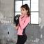 ชุดว่ายน้ำขายาวแขนยาว สีชมพู เซ็ต 4 ชิ้น (สปอร์ตบรา+เสื้อแขนยาว+บิกินี่+ขายาว) thumbnail 8