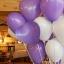 """ลูกโป่งหัวใจ เนื้อสแตนดาร์ทสีม่วง ไซส์ 12 นิ้ว แพ็คละ 10 ใบ (Heart Latex Balloon - Purple Color 12"""") thumbnail 2"""