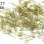 ตะปูเลข9หรืออายพิน สีทองเหลือง 4X15มิล (10กรัม) thumbnail 1