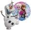 ลูกโป่งฟลอย์การ์ตูน เจ้าหญิงโฟรสเซนต์ทรงกลม - Round shape Frozen Princess Foil Balloon / Item No. TL-A097 thumbnail 4