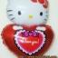 ลูกโป่งฟลอย์ Hello Kitty หัวใจ I Love You สีแดง - Hello Kitty I Love You heart Foil Balloon / Item No. TL-E022 thumbnail 3