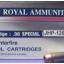 ลูกกระสุน .38 spl JHP Royal thumbnail 1