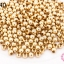 ลูกปัดทองเหลือง กลม 4มิล (1ขีด/100กรัม) thumbnail 1