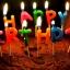 เทียนวันเกิดตัวอักษร Happy Birthday/ Item No.TL-N001 thumbnail 17