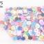 กระดุมพลาสติก คละสี 15มิล(1กิโล/1,000กรัม) thumbnail 1
