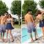 พร้อมส่ง 2XL ชุดว่ายน้ำไซส์ใหญ่ ชุดว่ายน้ำวันพีชทรงชุดแซก บราลายขวาง กระโปรงสีกรมท่า ตัดสีสันด้วยโบว์สีเหลืองสวยๆ thumbnail 11