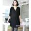 เสื้อเชิ้ตคลุมท้องแขนยาว มีฮู้ด : สีดำ รหัส SH054 thumbnail 4