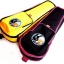 กระเป๋า Ukulele กระตูน หมี กระต่าย U900 บุฟองน้ำ สำหรับ size Soprano สีเหลือง - สีดำ thumbnail 1