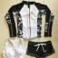 ชุดว่ายน้ำแขนยาว เซ็ต 3 ชิ้น บราขาว+กางเกงสีดำ+เสื้อแขนยาวซิปหน้า โทนสีขาวดำสวยๆ thumbnail 8