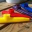 คาซู่ กาซู่ วัสดุ พลาสติก Plastic Kazoo สีเหลือง แดง ม่วง น้ำเงิน เขียว thumbnail 4
