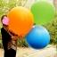 """ลูกโป่งกลม สีฟ้าเข้ม ไซส์ 18 นิ้ว จำนวน 1 ใบ (Round Balloon - Blue Color 18"""") thumbnail 1"""