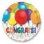 ลูกโป่งฟลอย์นำเข้า Bold Congratulations Balloons / Item No. AG-26893 แบรนด์ Anagram ของแท้ thumbnail 3