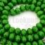 คริสตัลจีน ทรงซาลาเปา สีเขียวเข้มขุ่น 6มิล(1เส้น) thumbnail 1