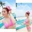พร้อมส่ง ชุดว่ายน้ำ Bikini ผูกข้าง สายคล้องคอ สุดเซ็กซี่ thumbnail 16