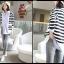 กางเกงยีนส์เดฟฟอกสีขายาว สีขาว : SIZE XL รหัส PN005 thumbnail 3