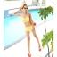 พร้อมส่ง ชุดว่ายน้ำบิกินี่ทูพีซ สีเหลือง แต่งระบายชั้นๆ น่ารัก thumbnail 3