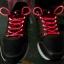 เชือกผูกรองเท้าไฟสีแดง Shoelace - LED Red color thumbnail 1