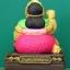 แม่นางกวัก ทรัพย์แสนล้าน ขนาด 3 นิ้ว มีผ้าพันคอสีเขียว thumbnail 4