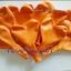 """ลูกโป่งหัวใจ เนื้อสแตนดาร์ทสีส้ม ไซส์ 12 นิ้ว แพ็คละ 10 ใบ (Heart Latex Balloon - Orange Color 12"""") thumbnail 2"""