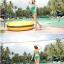 พร้อมส่ง ชุดว่ายน้ำวันพีซ Monokini สายเสื้อเดี่ยว แต่งระบายด้านหน้า หลังเว้าลึก น่ารักสไตล์เกาหลี thumbnail 34