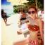 พร้อมส่ง ชุดว่ายน้ำบิกินี่ทูพีซ ลายแตงโมสีสันสดใสน่ารักมากจ้า thumbnail 12