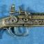 ปืนโบราณย่อส่วน แบบไฟแช็คตั้งโต๊ะ S-71 ราคา โรงเกลือ คลองถม บ้านหม้อ thumbnail 9