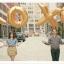 """ลูกโป่งฟลอย์รูปตัวอักษร O สีทอง ไซส์จัมโบ้ 40 นิ้ว - O Letter Shape Foil Balloon Size 40"""" Gold Color thumbnail 2"""