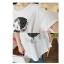 เสื้อคลุมท้อง ลายหนูน้อยแก้มแดง : สีขาว รหัส SH142 thumbnail 10