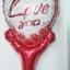 บอลลูนเป่าลม ทรงหัวใจ พิมพ์ลาย LOVE YOU หัวใจสีแดง / Item No. TL-M012 สำเนา thumbnail 2