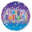 ลูกโป่งฟลอย์นำเข้า Happy Birthday Bright Stars / Item No. AG-24653 แบรนด์ Anagram ของแท้ thumbnail 3
