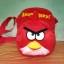 กระเป๋าสะพายข้าง angry bird สีแดง  thumbnail 1