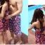 พร้อมส่ง ชุดว่ายน้ำคู่รัก ชุดว่ายน้ำบิกินี่ทูพีซ สายคล้องคอ ลายสตรอเบอร์รี่น่ารักๆ พร้อมเดรสคลุมสวยๆ กางเกงผู้ชายลายเดียวกัน thumbnail 3