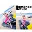 PRE ชุดว่ายน้ำเซ็ต 3 ชิ้น บรา กางเกงขาสั้น บวกกางเกงขายาวตัวนอก สีสันสดใสสุดชิค thumbnail 4