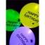 ลูกโป่ง LED พิมพ์ลาย Happy Birthday คละสี แพ็ค 5 ชิ้น ไฟสลับสี (LED Balloon Happy Birthday Mixed Color - LED RGB) thumbnail 4