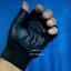 ถุงมือมอเตอร์ไซค์หนัง+ผ้า แบบครึ่งมือ R thumbnail 2