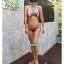 พร้อมส่ง ชุดว่ายน้ำ Bikini ผูกข้าง สายคล้องคอ ลายสวยๆ thumbnail 6