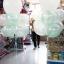 """ลูกโป่งจัมโบ้ สีขาว ขนาด 24 นิ้ว - Round Jumbo Balloon White color 24"""" thumbnail 3"""