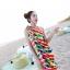 พร้อมส่ง ชุดว่ายน้ำคู่รัก บิกินี่ เซ็ต 3 ชิ้น colorful สีสันสดใส (บรา+บิกินี่+ผ้าคลุมซีทรู) thumbnail 2