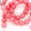 หินควอตซ์กุหลาบ สีชมพู 10มิล (จีน) (1เส้น) thumbnail 1