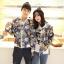 เสื้อกันหนาวคู่รักพร้อมส่ง แฟชั่นคู่รัก ชาย +หญิงเสื้อกันหนาวคู่รัก แบบซิบ ลายอวกาศ thumbnail 3