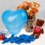 """ลูกโป่งหัวใจ เนื้อเมททัลลิก สีน้ำเงินไซส์ 12 นิ้ว แพ็คละ 10 ใบ (Heart Latex Balloon - Metallic Royal Blue Color 12"""") thumbnail 2"""