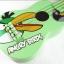"""อูคูเลเลเล่ Ukulele รุ่น Angy Bird Green Soprano 21"""" Basswood GHS ฟรีกระเป๋า thumbnail 2"""
