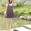 กางเกงเลคกิ้งคลุมท้อง ผ้าคอตตอน : สีเทา รหัส PN045 thumbnail 9