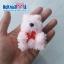 """พวงกุญแจตัวปั้น(ผ้าขนหนู) ตุ๊กตา หมี 2.5"""" thumbnail 4"""