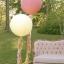 """ลูกโป่งกลมจัมโบ้ไซส์ใหญ่ 36"""" Latex Balloon RB IVORY SILK 3FT สีครีม/ Item No. TQ-43657 แบรนด์ Qualatex thumbnail 5"""